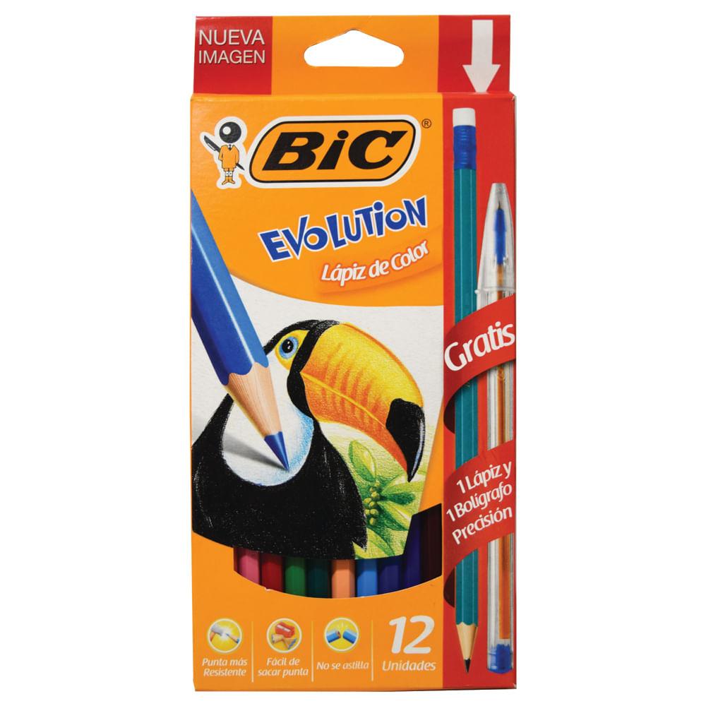 Lapiz-de-color-largo-Bic-caja-12-uds.