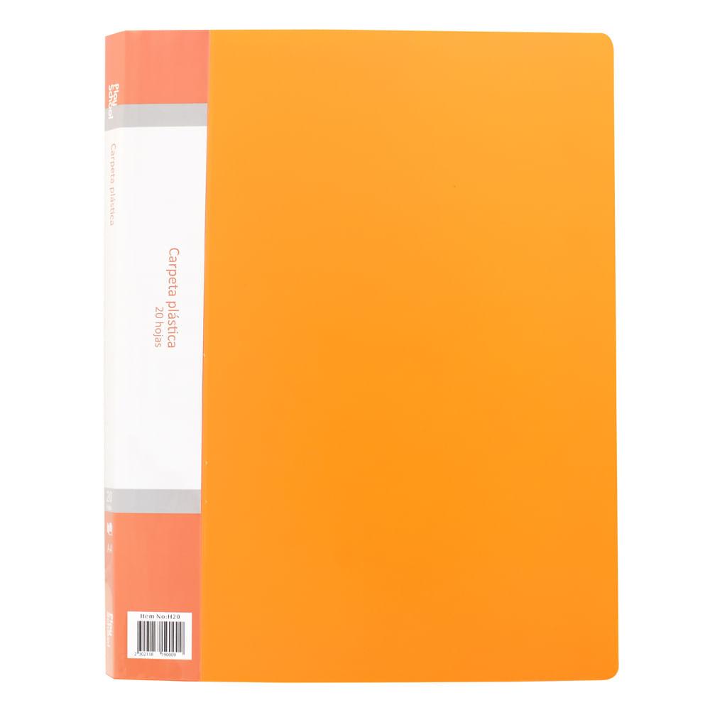 Carpeta-plastica-A4-Naranja-Play-School