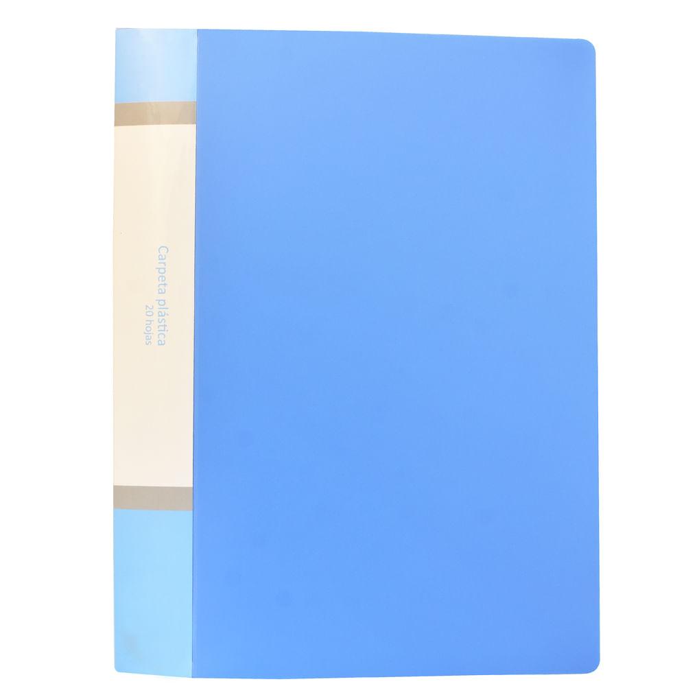Carpeta-plastica-A4-Azul-Play-School