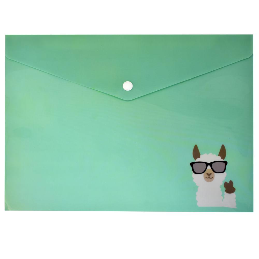 Carpeta-plastica-porta-documento-verde-transparente-Play-School