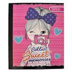 Cuaderno-cosido-Estilo-100-h-cuadros-diseños-surtidos-niña