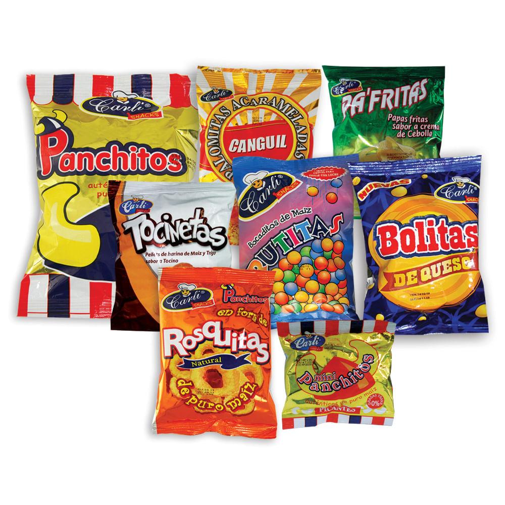 Combo-snack-Carlisnacks-funda-8-uds.-surtido