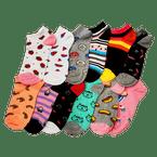 Medias-deportivas-para-mujer-Foot-Losse-x12-pares-Surtido-A