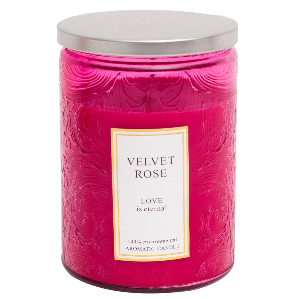 Vela-decorativa-Homeclub-frasco-115-g-Velvet-Rose