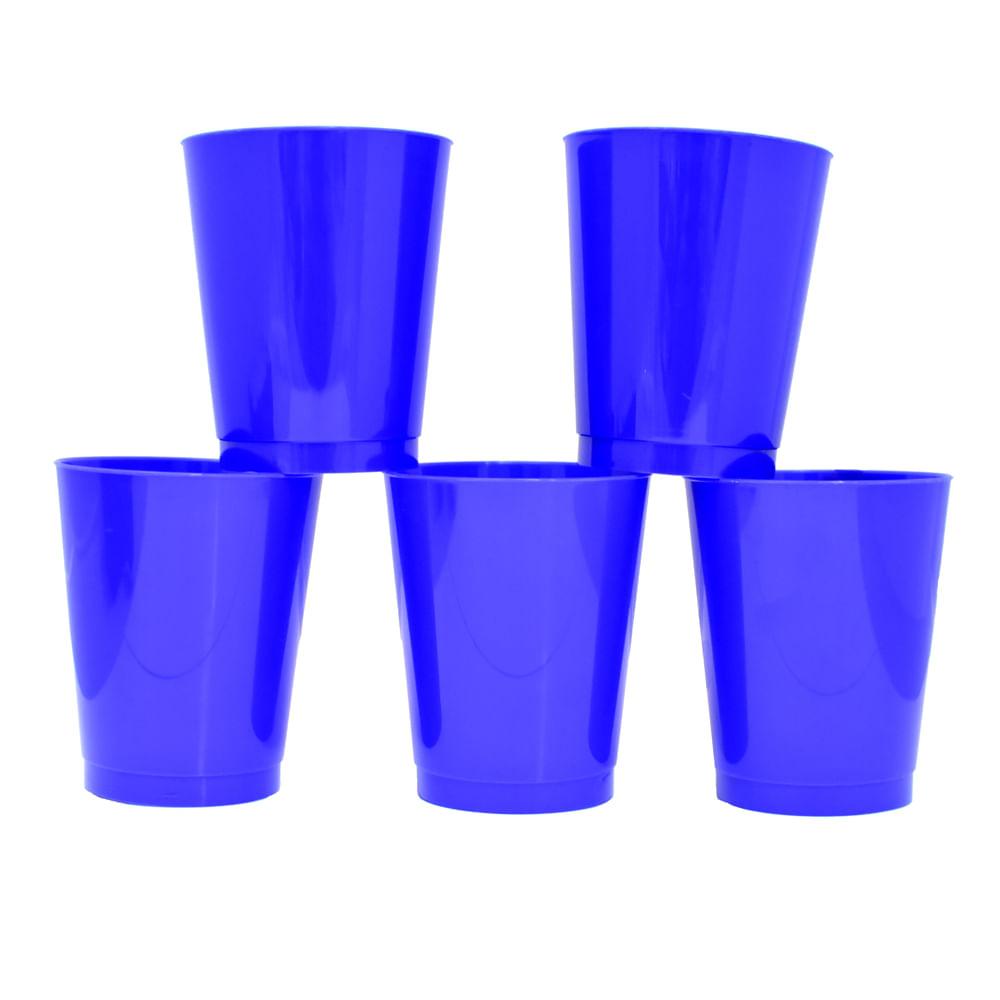 Vaso-plastico-azul-295-ml-x5-uds.-Houseware