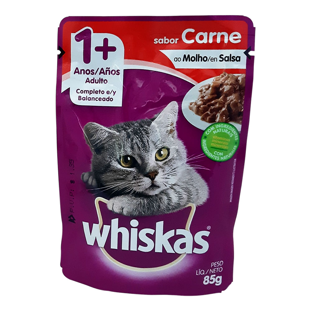Alimento-humedo-para-gato-Whiskas-85-g-carne