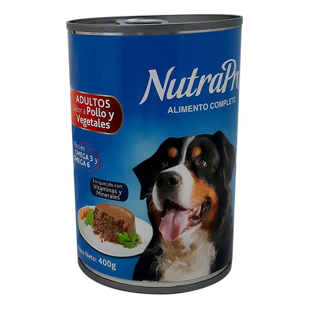 Alimento-humedo-para-perro-NutraPro-400-g-pollo-y-vegetales