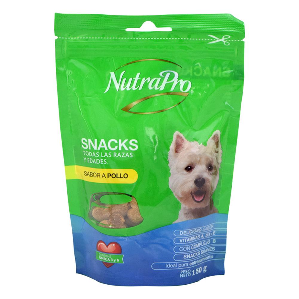 Alimento-para-perro-NutraPro-snacks-150-g-pollo