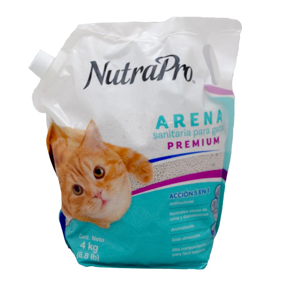 Arena-para-gatos-NutraPro-4-Kg