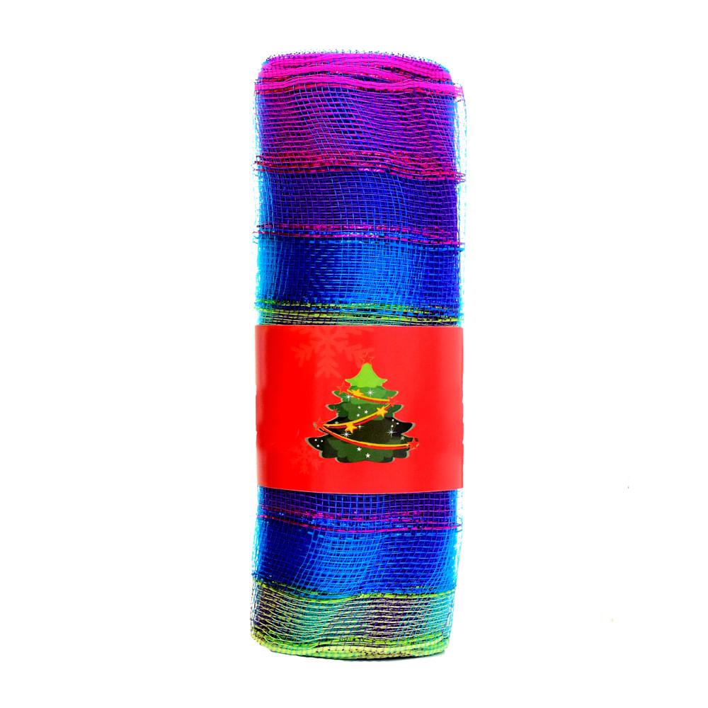 Malla-Best-Xmas-25-CM-X-10-Yardas-Multicolor-Tornasol