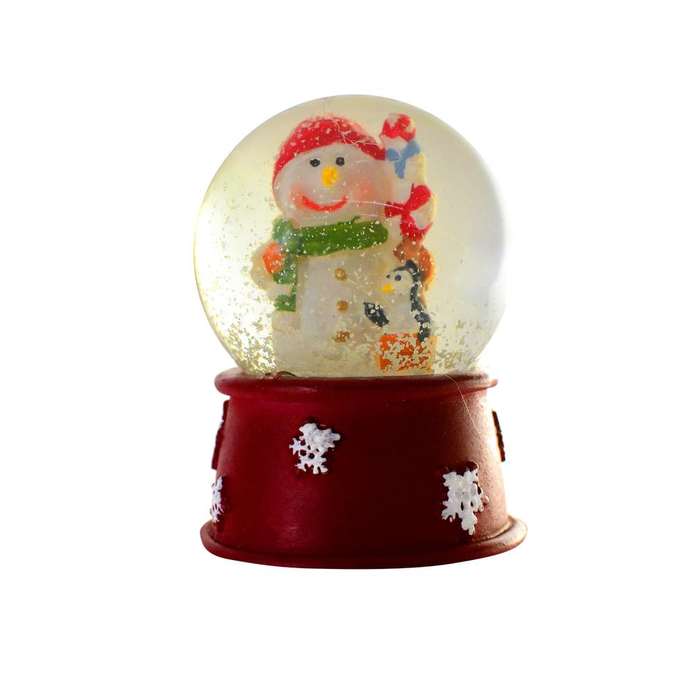 Adorno-de-poliresina-Best-Xmas-7-CM-Snow-ball