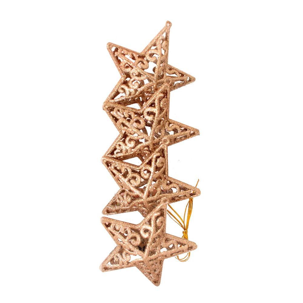 Colgante-Best-Xmas-11-CM-X-4-UNI-escarchado-dorado