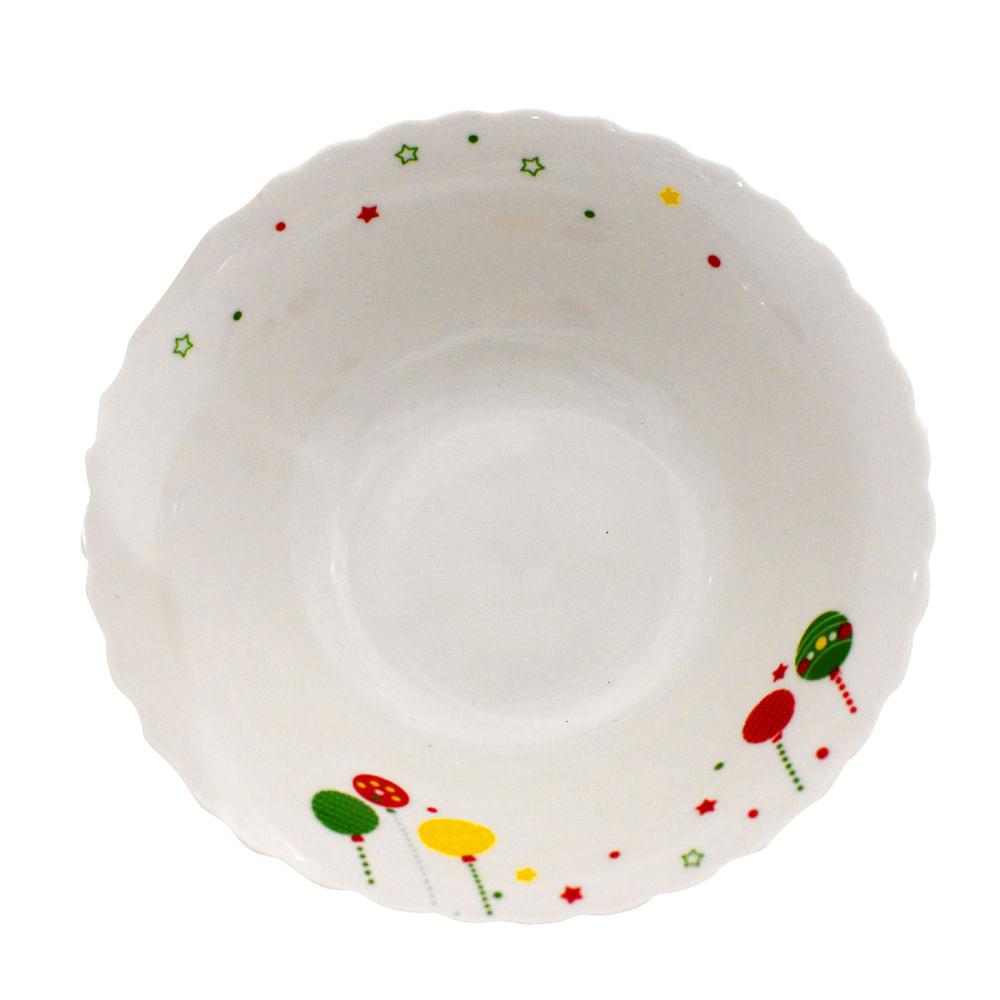 Plato-cuenco-porcelana-Best-Xmas-7-Pulgadas-esferas