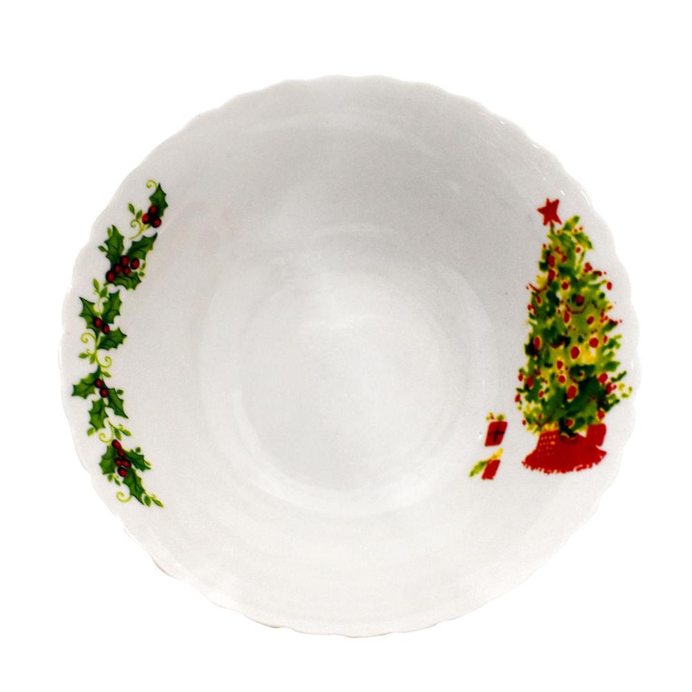 Plato-cuenco-porcelana-Best-Xmas-7-Pulgadas-arbol-navideño