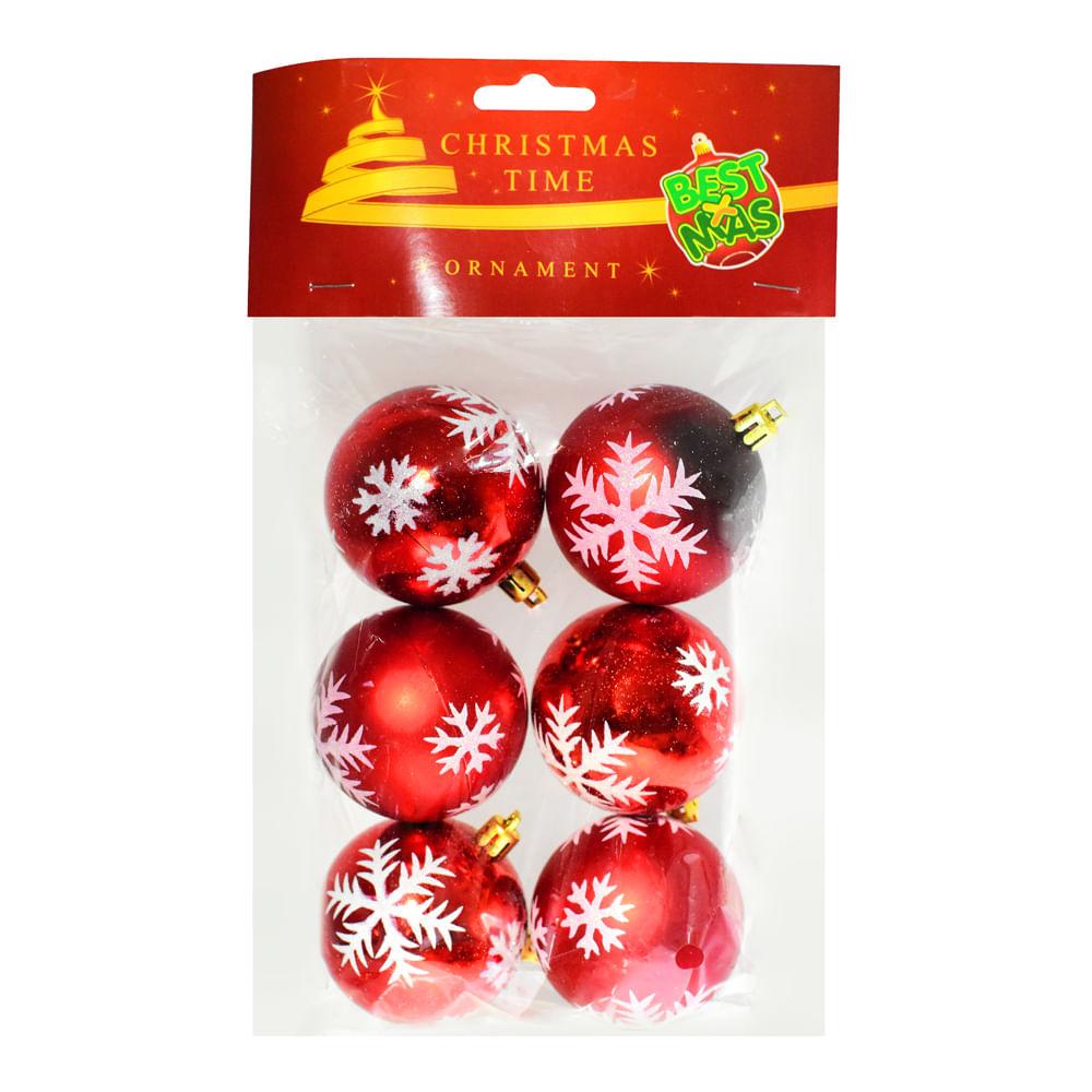 Esferas-plasticas-Best-Xmas-6-CM-X-6-UNI-textura-rojo