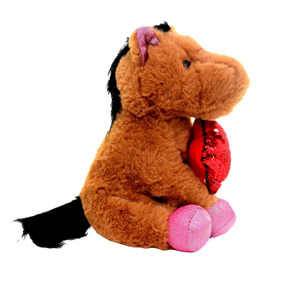 Peluche-con-Lentejuelas-23-CM-Happy-Toys-Animales-Caballito