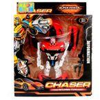 Robot-Transformable-22x7x27.5-CM-Happy-Toys-Rojo