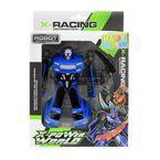 Robot-Transformable-27.5x19x6.3-CM-Happy-Toys-Azul