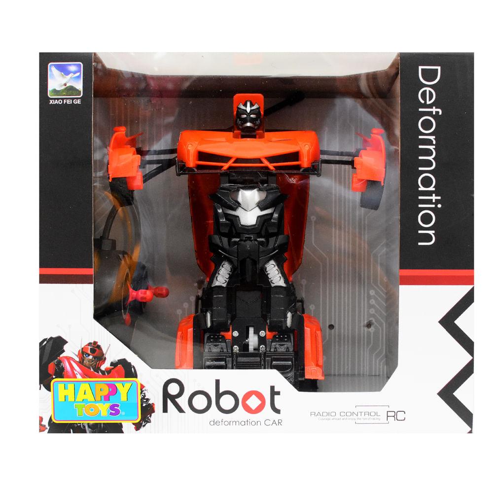 Robot-Transformable-5-Funciones-Happy-Toys-Naranja