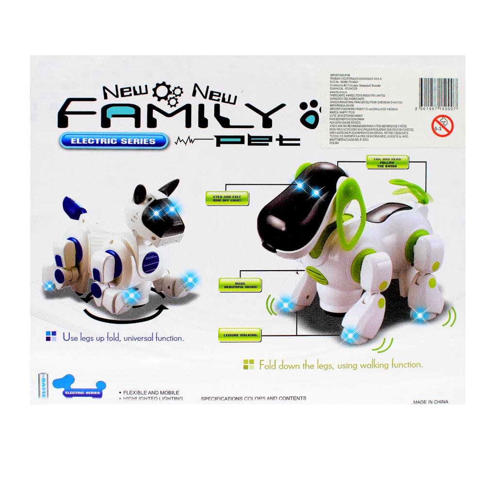 Perro-Robot-21-CM-Con-Luces-y-Musica-Happy-Toys-Blanco