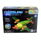 Bloques-Armables-Con-Luces-Happy-Toys-50-Piezas-Avion