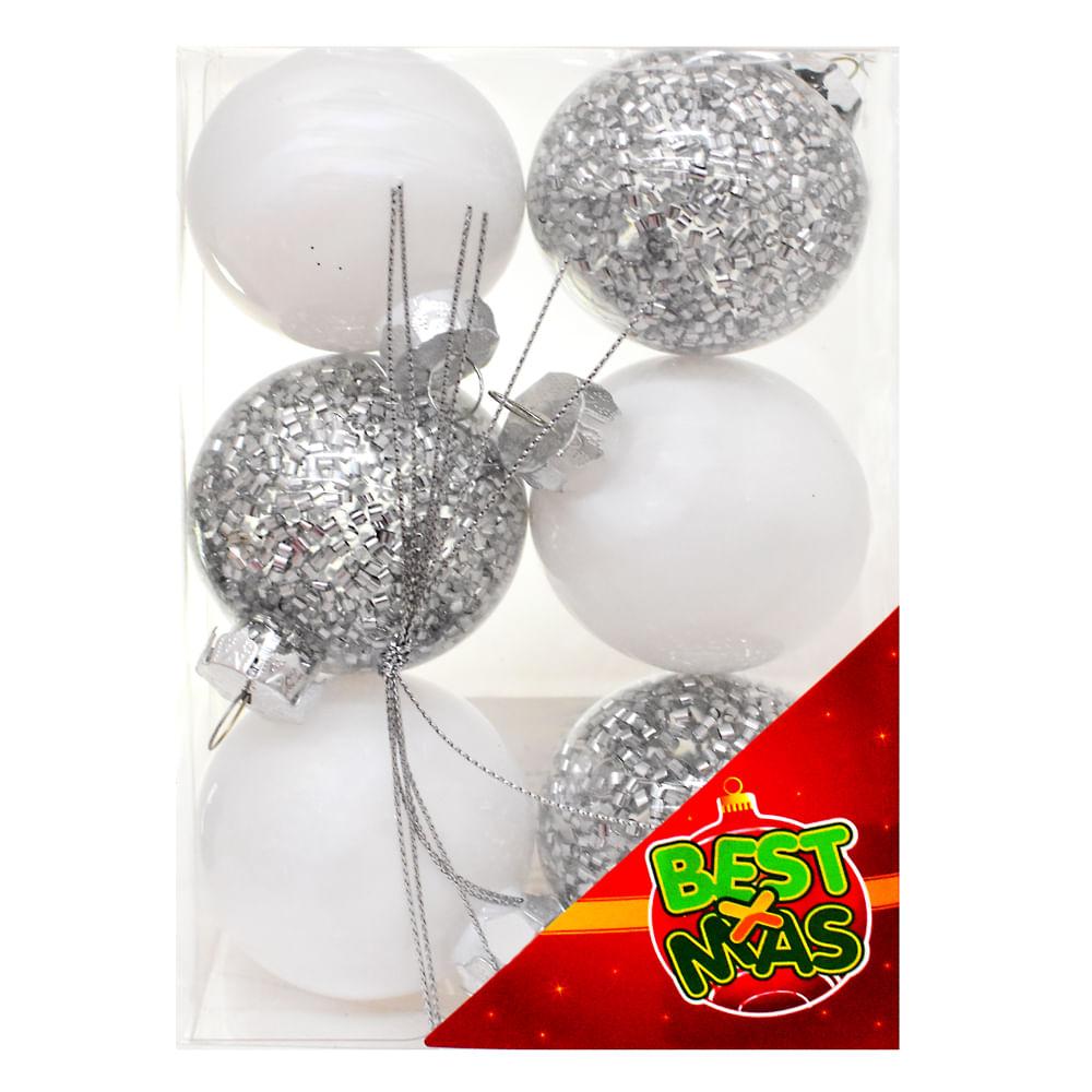 Esferas-Plasticas-6-CM-Best-Xmas-6-UNI-Plata
