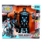 Robot-Transformable-28.5x25x16-CM-Happy-Toys-Azul