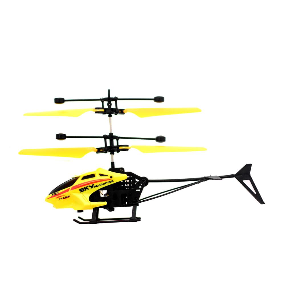 Helicoptero-con-Remoto-15.5x14x5.5-CM-Happy-Toys-Amarillo