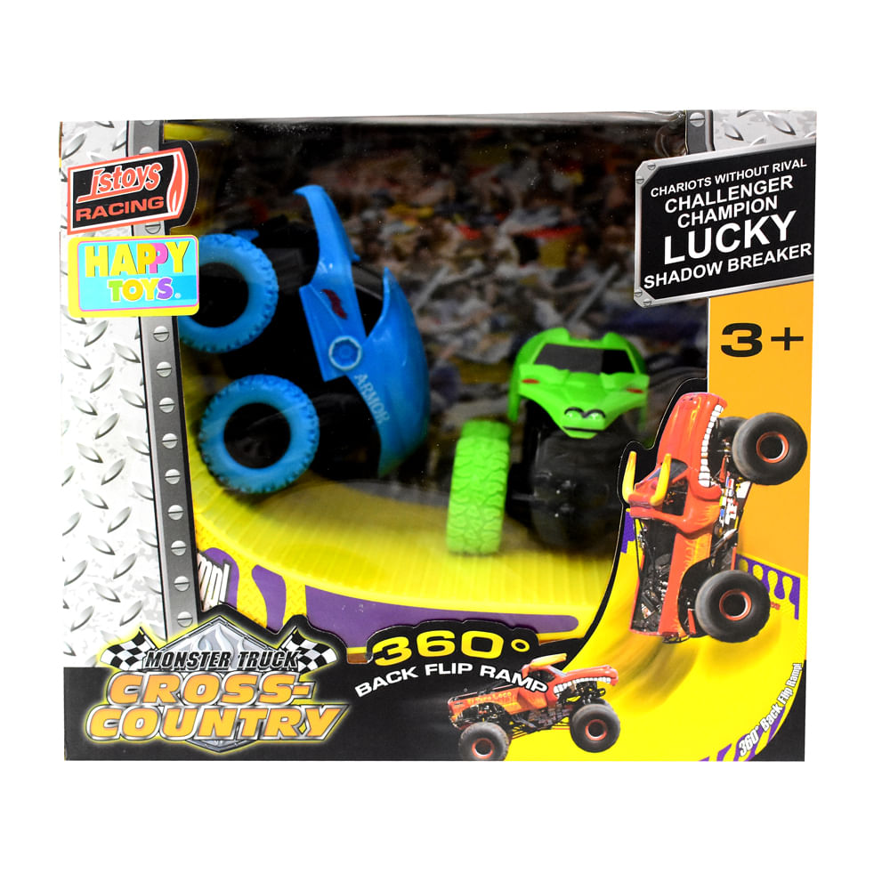 Carro-A-Friccion-con-Rampa-Happy-Toys-Surtido