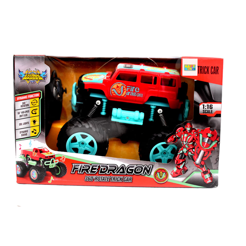 Robot-Transformable-19x30.5x21-CM-Happy-Toys-Rojo