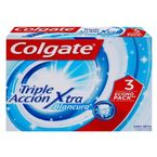 Crema-dental-Colgate-Triple-accion-60-ml-x3-unds.-Extra-blancura