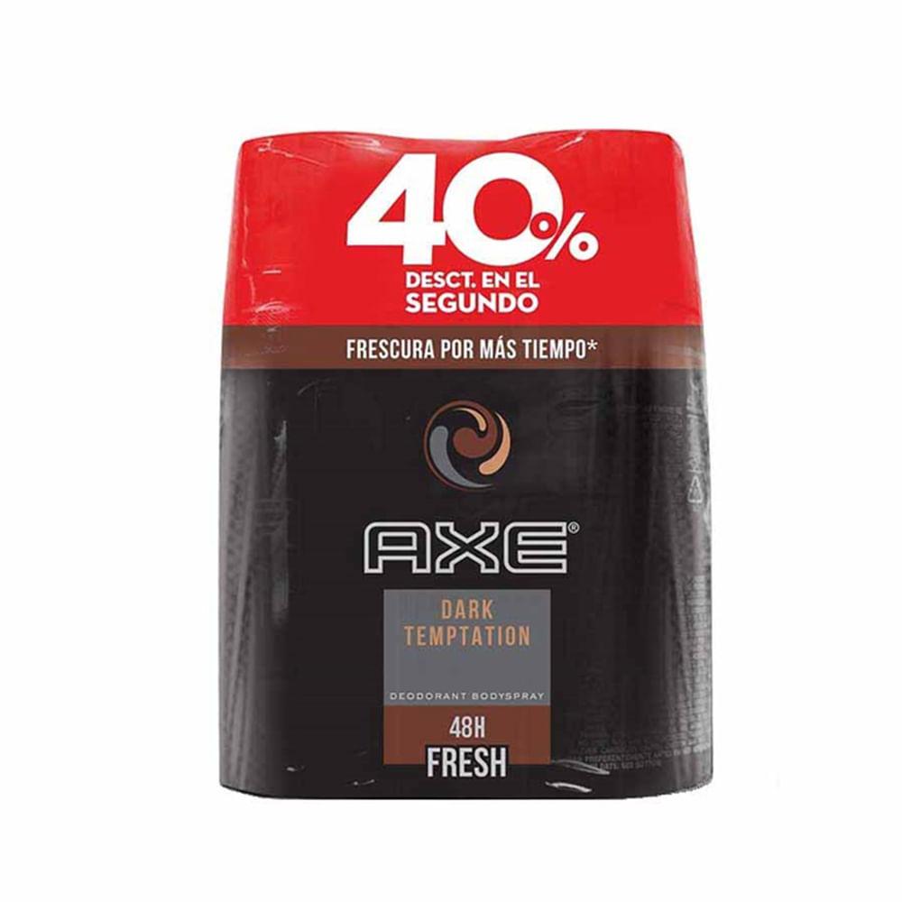 Desodorante-Axe-Body-150-ml-Dark-Bipack