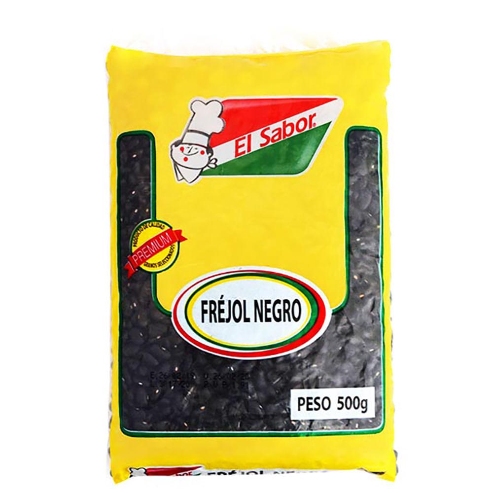 Frejol-Negro-El-Sabor-500-G