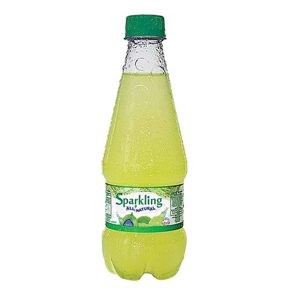 Jugo-All-Natural-Sparkling-400-Ml-Limon