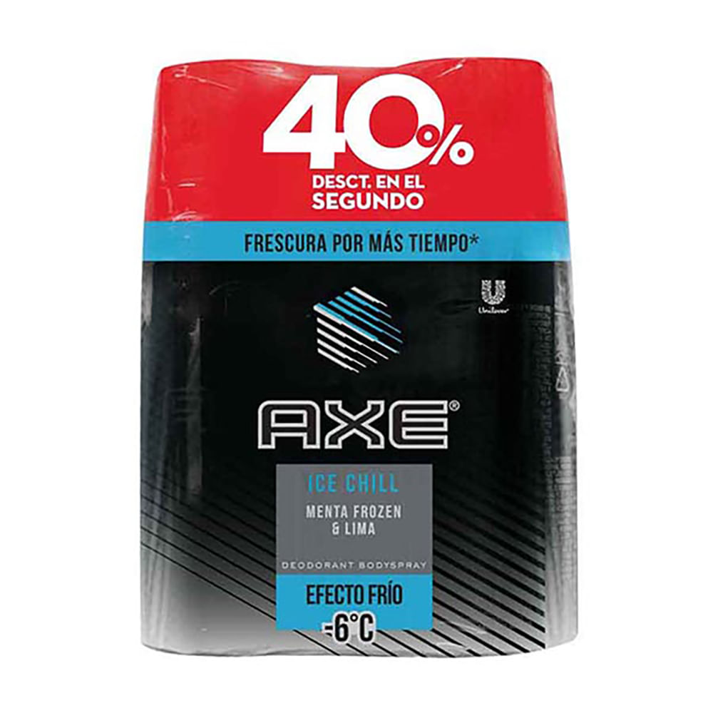 Desodorante-Axe-Body-150-Ml-Ice-Chill-Bipack