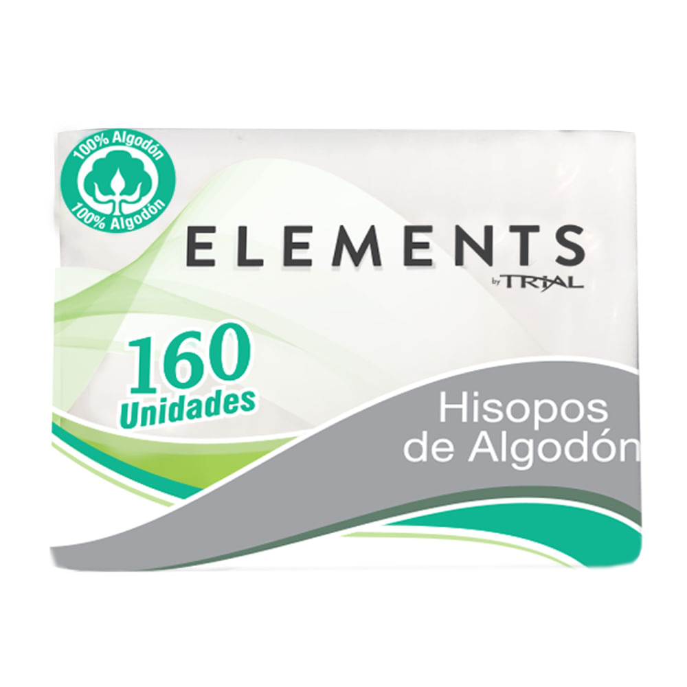 Hisopos-Elements-By-Trial-Funda-160-Uni