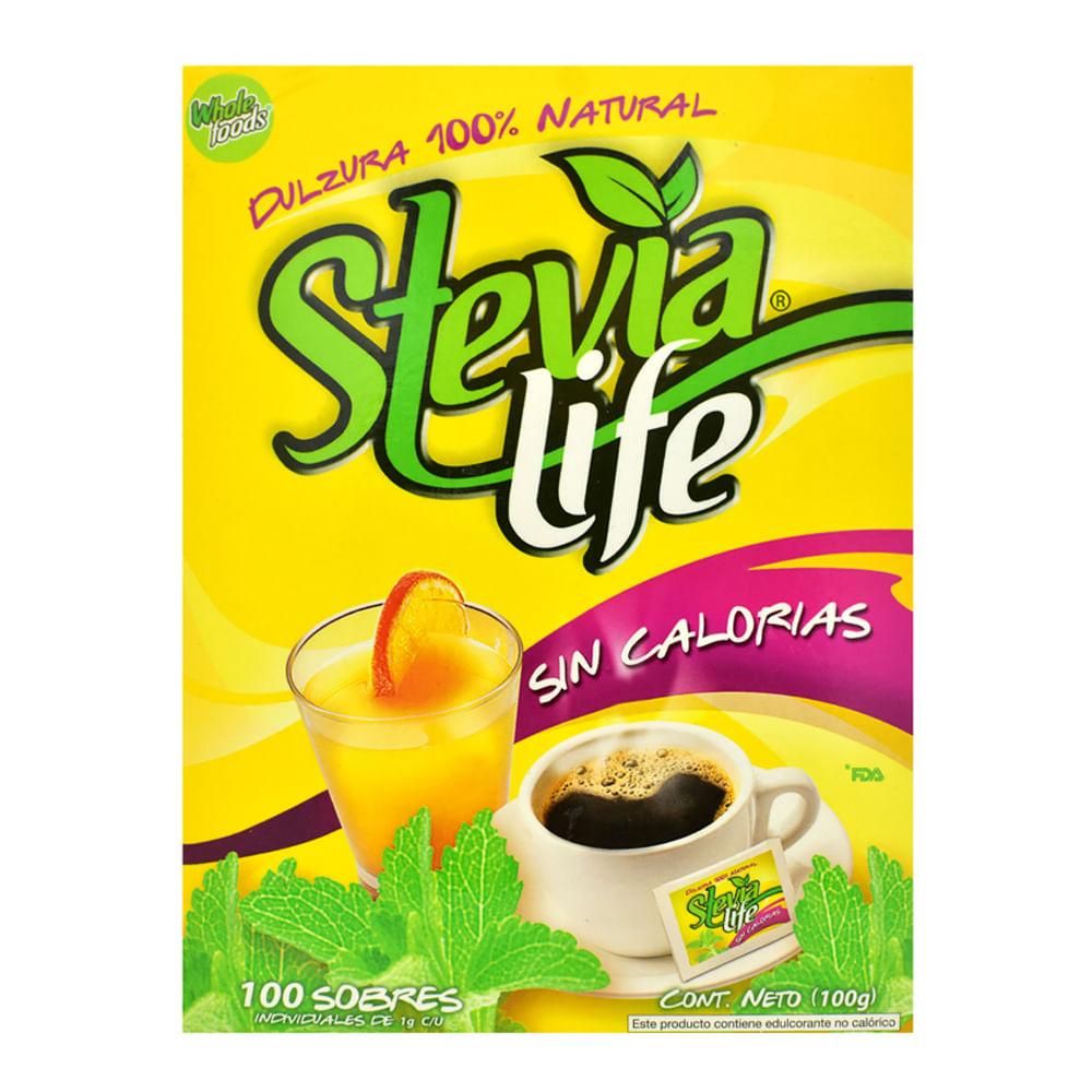 Endulzante-Stevia-Life-X-100-Sobres