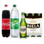 Combo-Cerveza-Biela-Reserva---Duopack-Coca-cola-y-Sprite