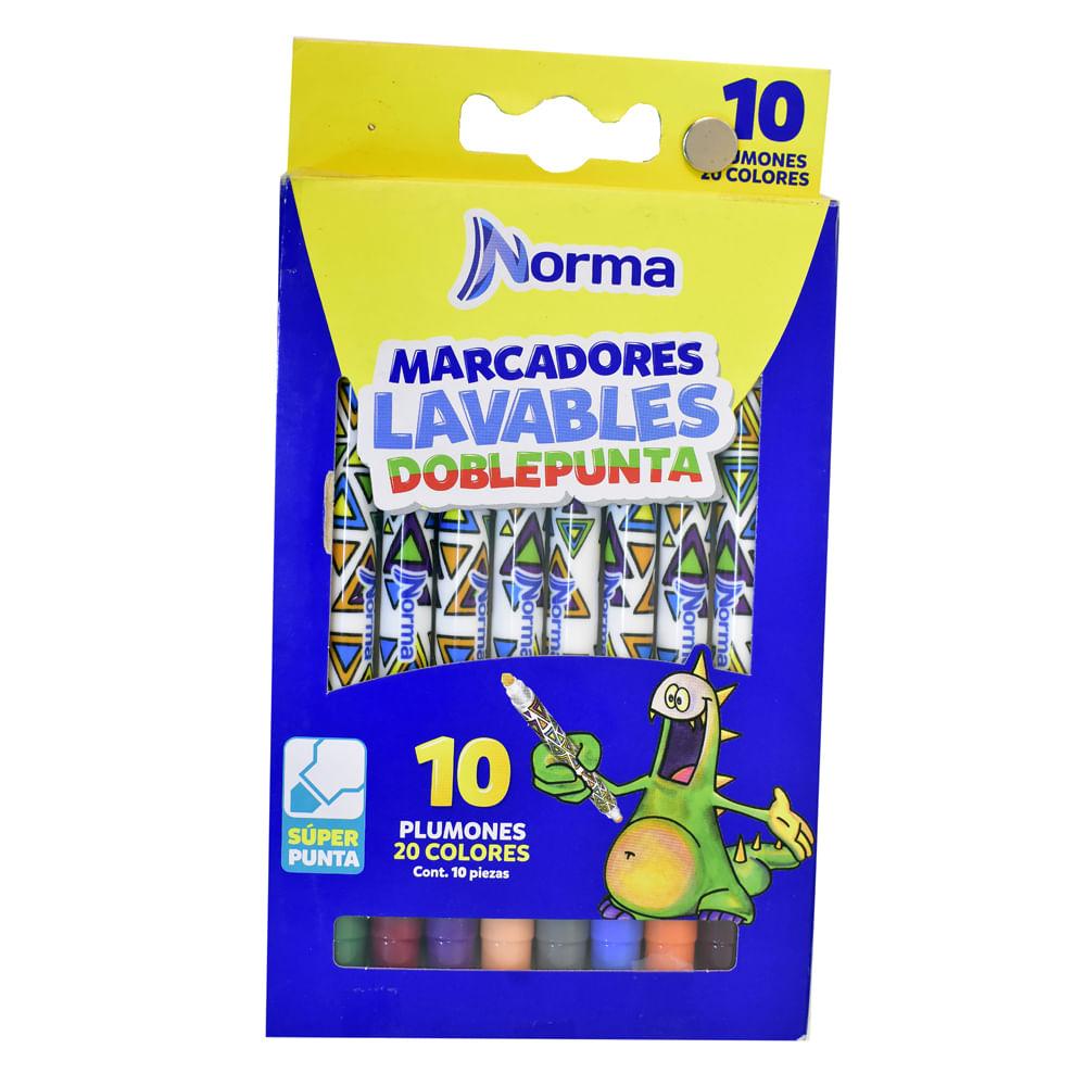Marcador-Lavable-Doble-Punta-Norma-10-Uni
