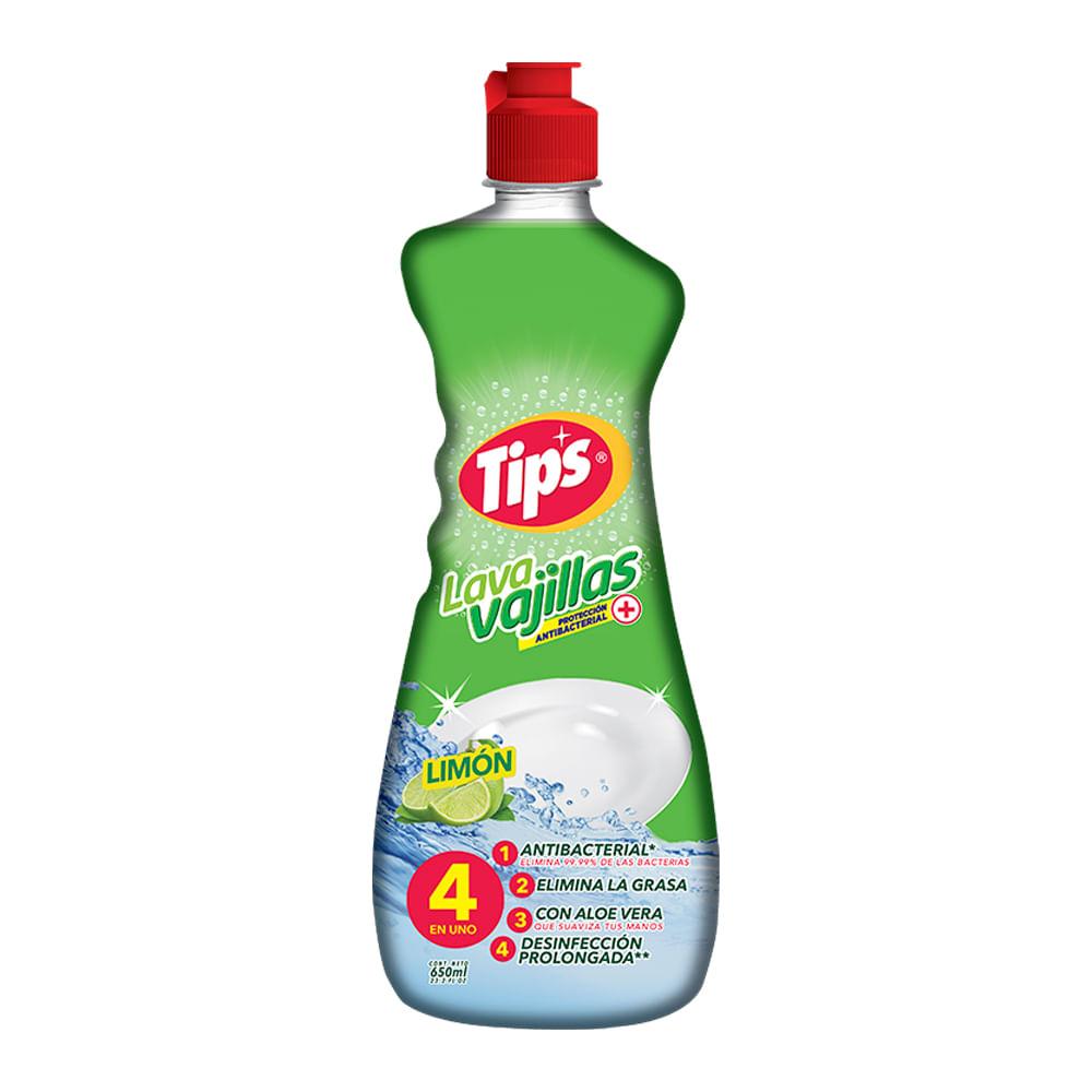 Lavavajilla-Liquido-Tips-650-ml-Limon