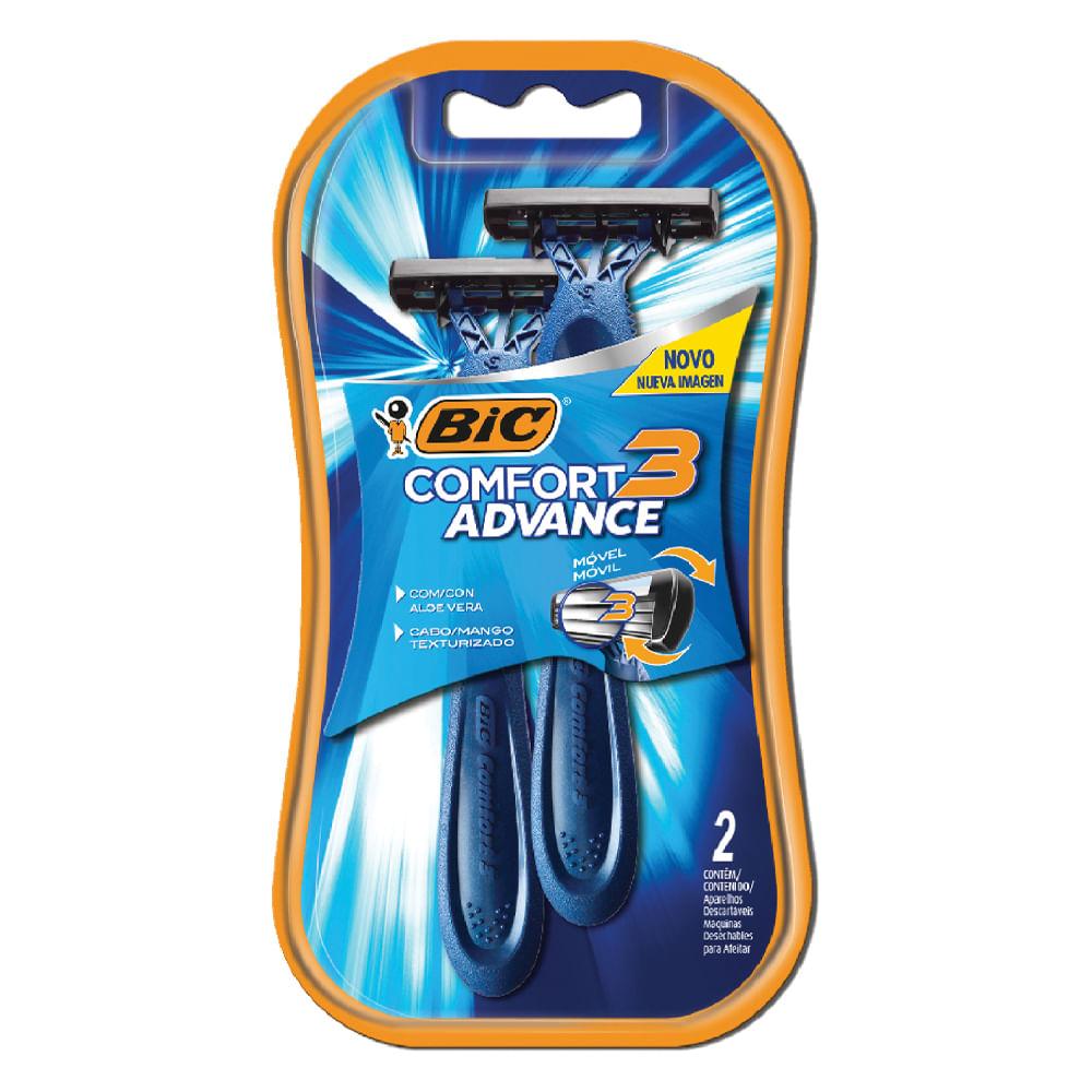 Maquina-de-afeitar-Bic-Comfort3-x2unds-Azul