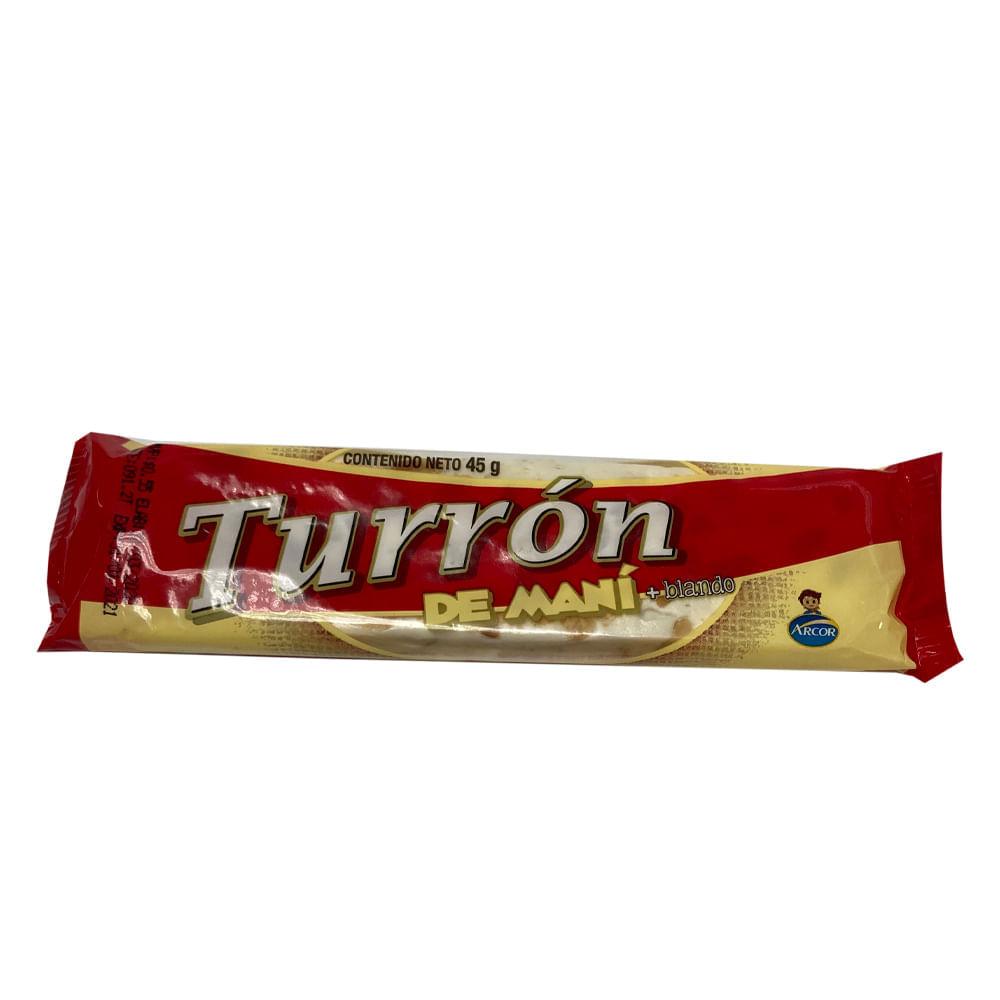 TURRON-ARCOR-45-G-MANI-