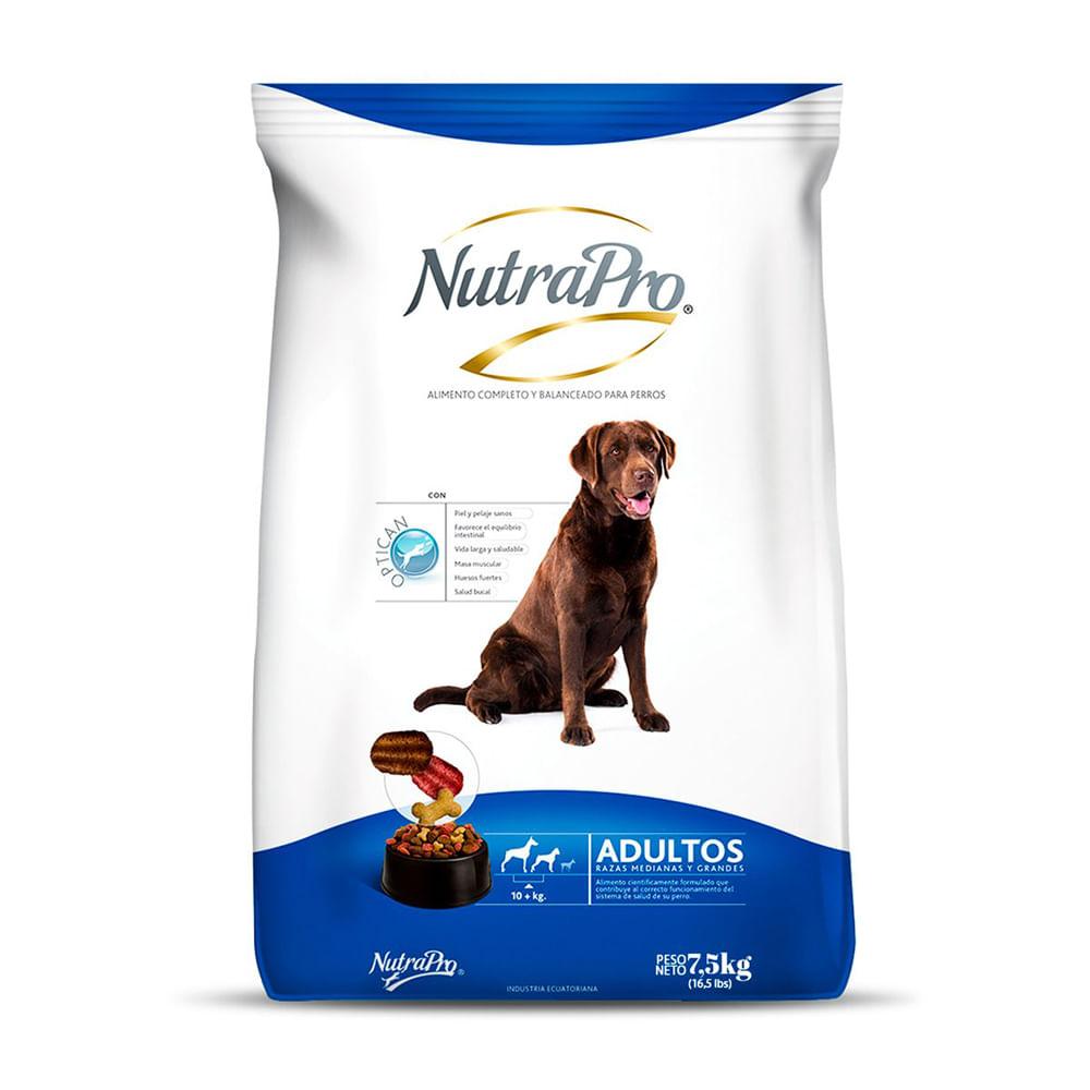 Alimento-para-perro-Adulto-Nutrapro-7.5-Kg--Raza-Mediana-Grande
