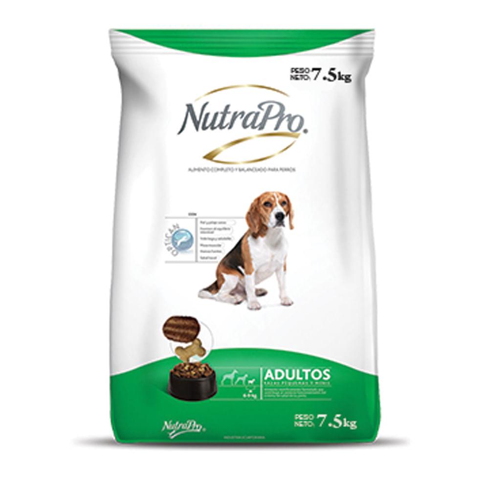 Alimento-para-perro-Adulto-Nutrapro-7.5-Kg--Raza-Pequeña-Minis