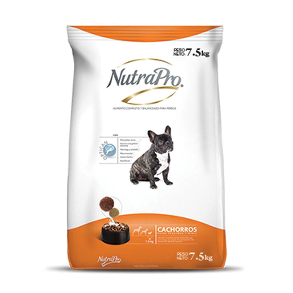 Alimento-para-perro-Cachorro-Nutrapro-7.5-Kg---Raza-Pequeña-Minis