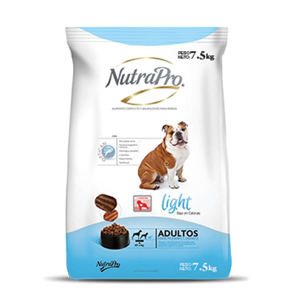 Alimento-para-perro-Adulto-Nutrapro-Light-7.5-Kg--Raza-Mediana-Grande