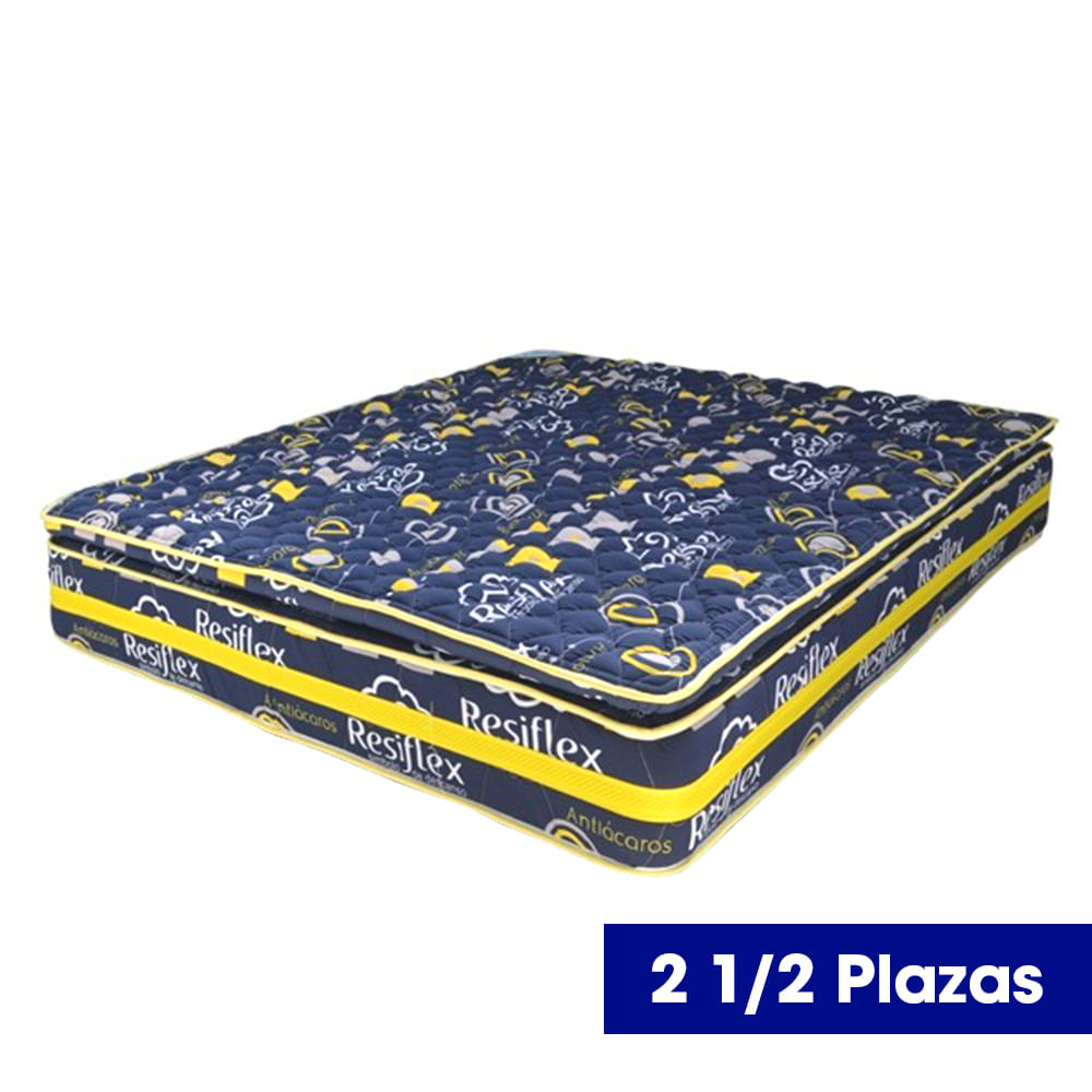 Colchon-Resiflex-Soñadora-One-Side-Azul-160x200-cm