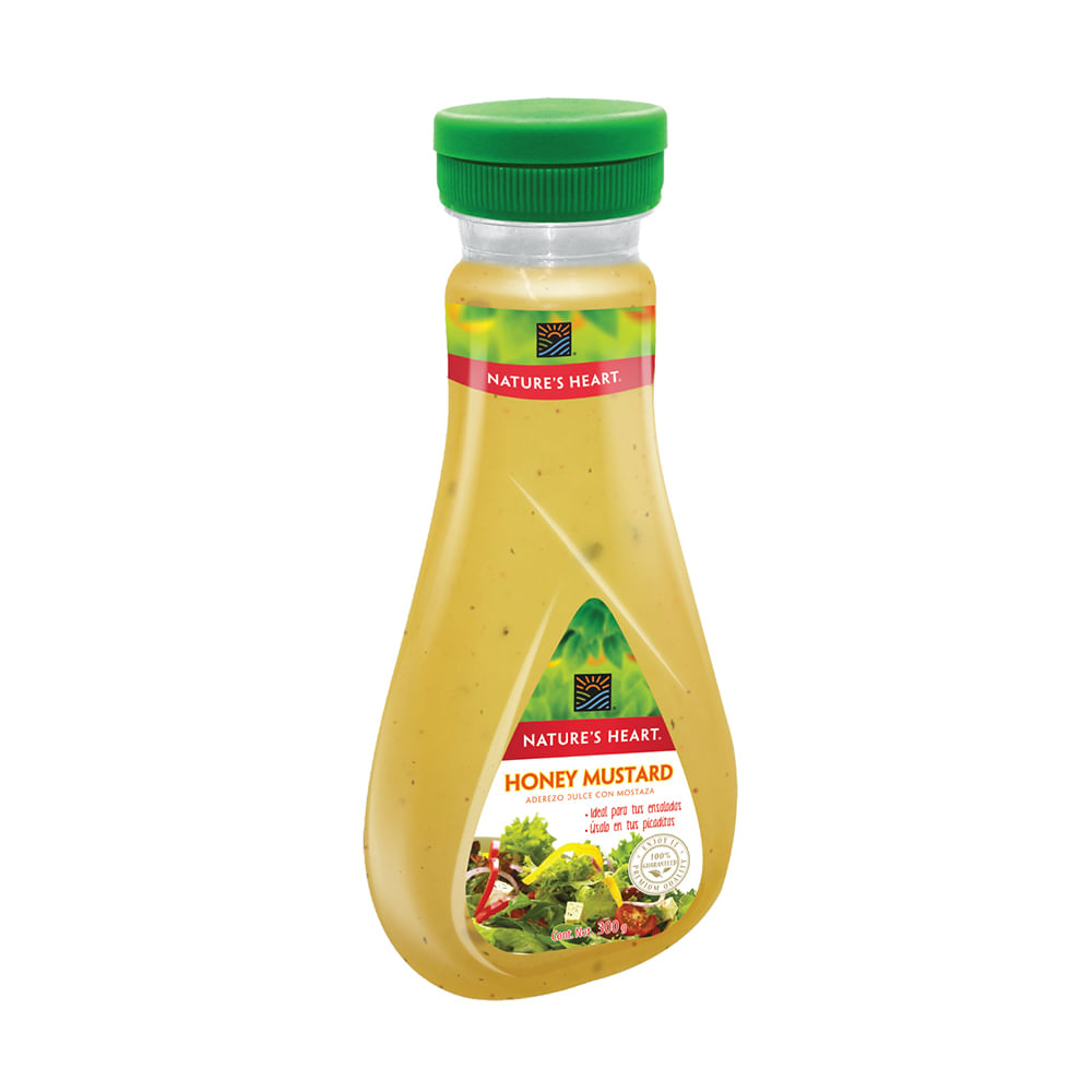 Aderezo-Para-Ensaladas-Natures-Heart-300-G-Honey-Mustard