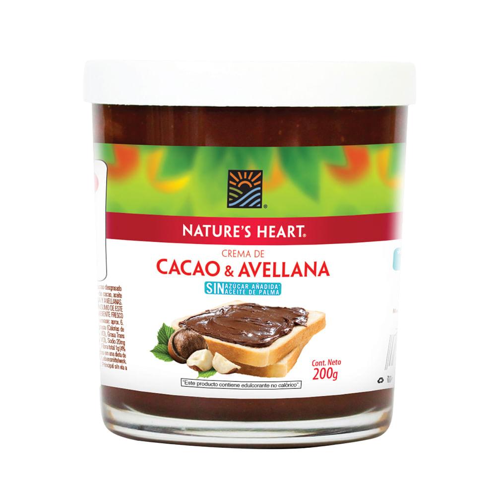 Crema-De-Cacao-Y-Avellana-Natures-Heart-200-G