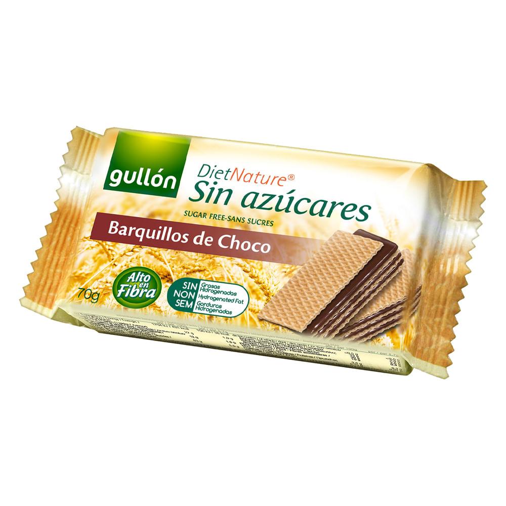 Barquillo-sin-azucar-Gullon-70-g-Chocolate